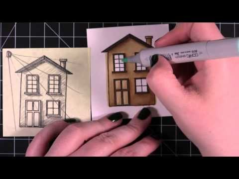 very nicely done tutorial on shading with copics
