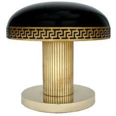 Art Decó table lamp.