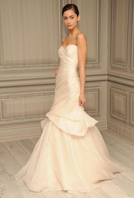 40 best Monique Lhuillier Bridal images on Pinterest | Wedding ...