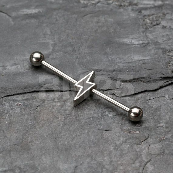 Hey, I found this really awesome Etsy listing at https://www.etsy.com/listing/234375113/lightning-bolt-industrial-barbell