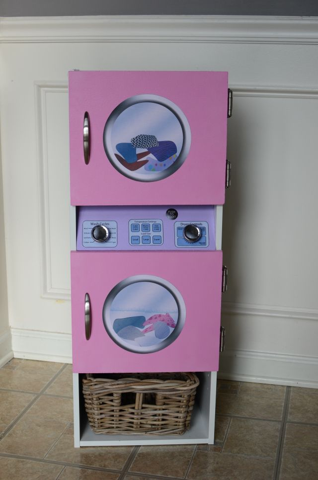 DIY Play Washer and Dryer for $50