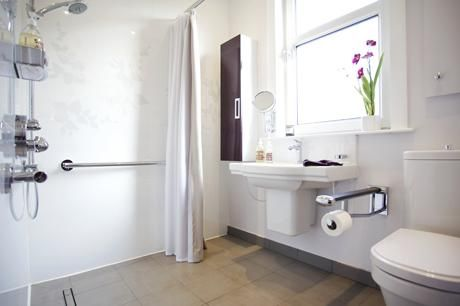 Wet Rooms For Wheelchair Users