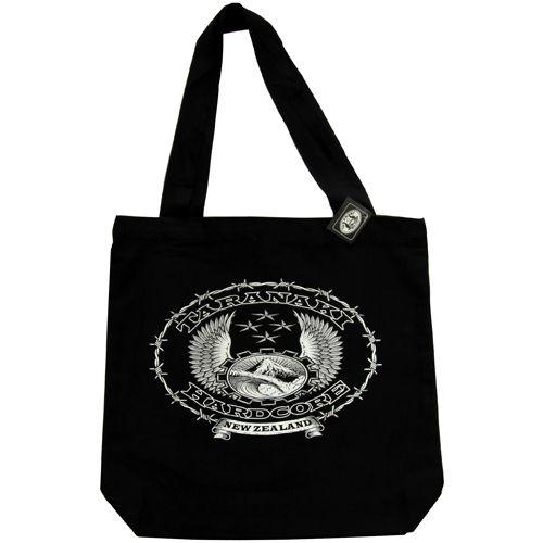 Taranaki Hardcore White Carry Bag http://thc.co.nz/catalogue/store.html#!/~/product/category=995961&id=26905263