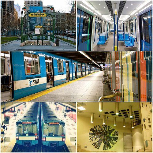 Transporte público em Montreal. Tá um pouco perdido de como usar o transporte público? Aqui você vai achar todas as dicas necessárias pra viajar por toda Montreal.