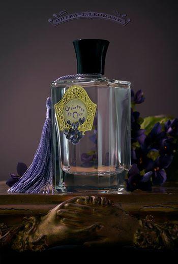 Nouveau parfum Violettes du Czar. Foto di Roberto Greco.