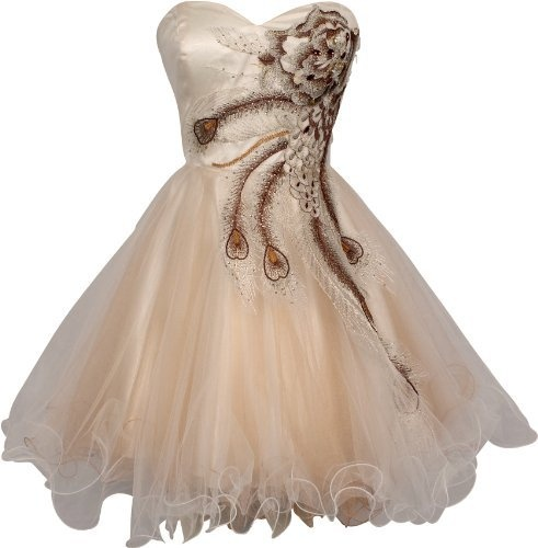 Metallic Peacock Embroidered Holiday Party Prom Dress Junior Plus Size, Size: Large, Color: Ivory PacificPlex, http://www.amazon.com/dp/B007EHB7EA/ref=cm_sw_r_pi_dp_uKZerb0GTB0TJ
