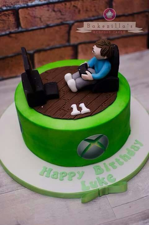 25 Best Ideas About Xbox Cake On Pinterest Video Game