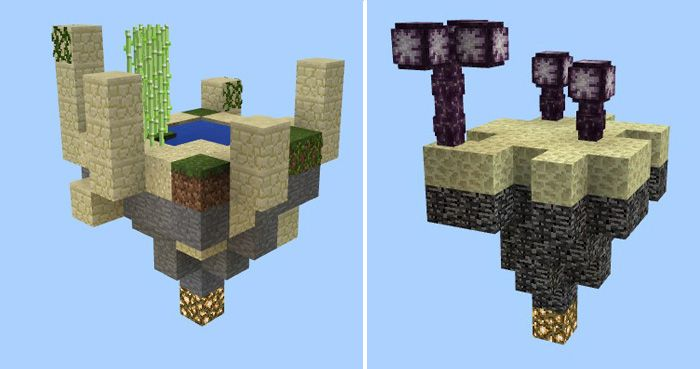 In comparison with the ordinary skyblock, Mega Skyblock [Survival] Map comes with fourteen distinct islands. It requires all players to overcome different challenges to complete their task. When enjoying this game, you can get the new materials from a dimension or a biome to survive. Founded by:... http://mcpebox.com/mega-skyblock-survival-map-minecraft-pe/