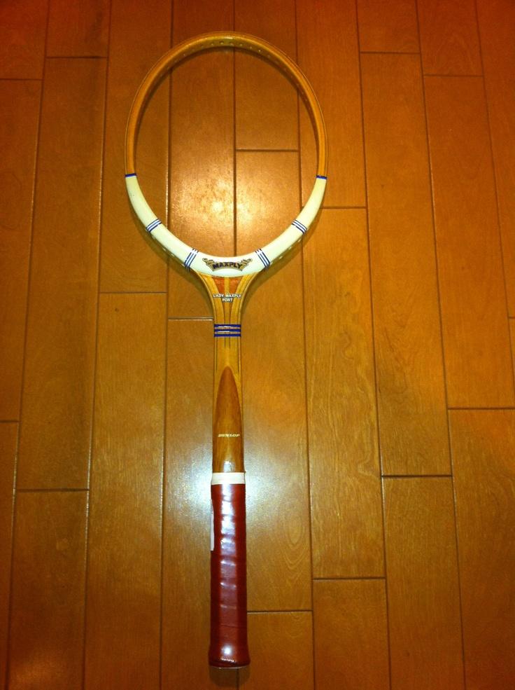 Maxply ladies wood racket