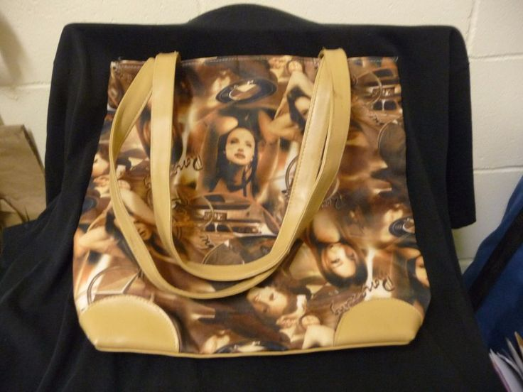 """Old Hollywood"" zip up tote 12"" x 12"" #Unknown #TotesShoppers"