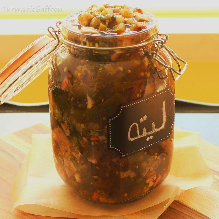 ترشی - Torshi (pickle) is a very common side dish in Persian cuisine served alongside rice and khoresh, kebobs and other traditional dish...