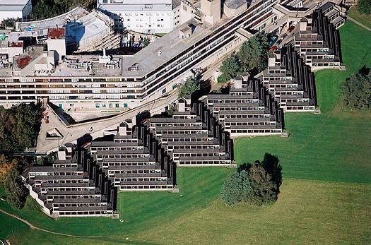 Norfolk Terrace University Of East Anglia Denys Lasdun