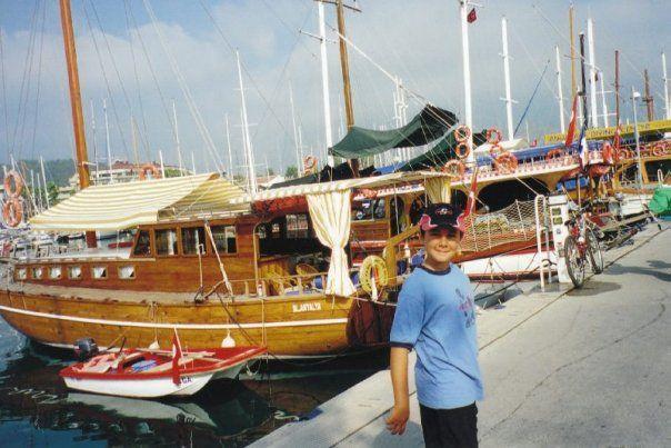 Kirish - Turkey - with Anton, Xand, Kim and Hasan - 2007