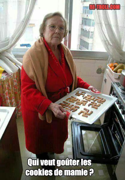 Ils sont bons les cookies de mamie ! - Be-troll - vidéos humour, actualité insolite