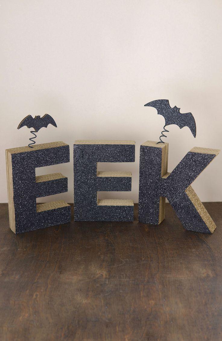 eek cardboard sign halloween decorationssignshtml - Cardboard Halloween Decorations