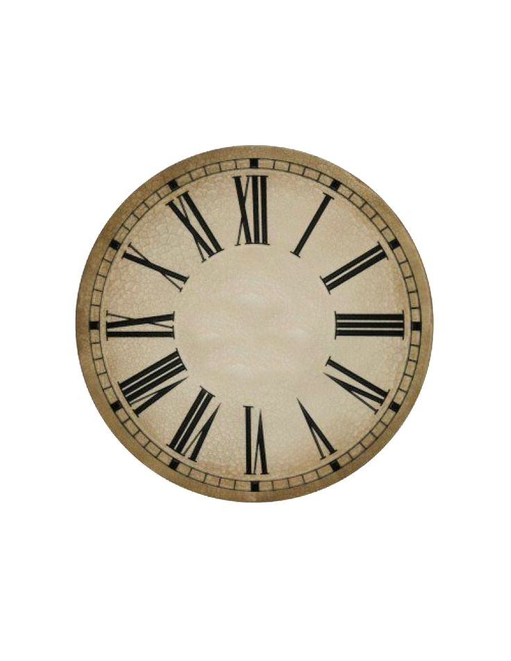 11 best clock faces images on pinterest vintage clocks for Clock face templates for printing