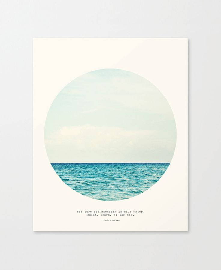 Salt Water Cure Canvas - Let It Hang Collection - Dot & Bo