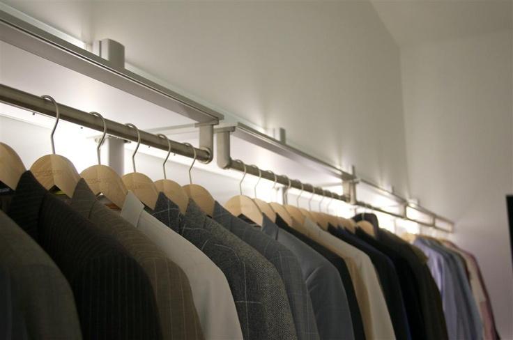 Open dressings bieden een perfect overzicht van wat uw kleerkast te bieden heeft