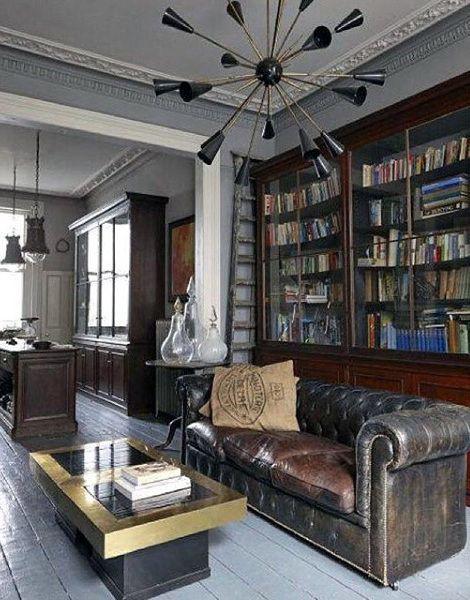 25+ best masculine room ideas on pinterest | chesterfield