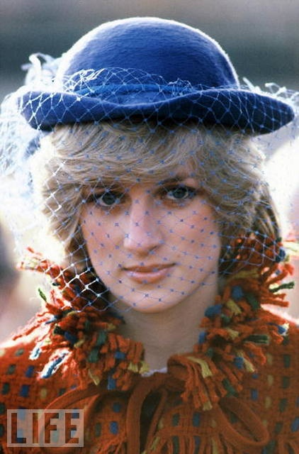 Young princess diana in a John Boyd hat. www.johnboydhats.co.uk