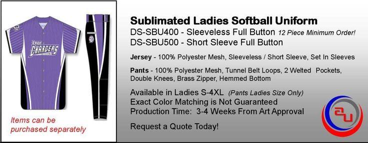 SUBLIMATED WOMENS FULL BUTTON JERSEY SOFTBALL  UNIFORM https://affordableuniformsonline.com/custom-uniforms/sublimated-uniforms/sublimated-softball