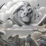 As fantásticas esculturas de papel de Jeff Nishinaka