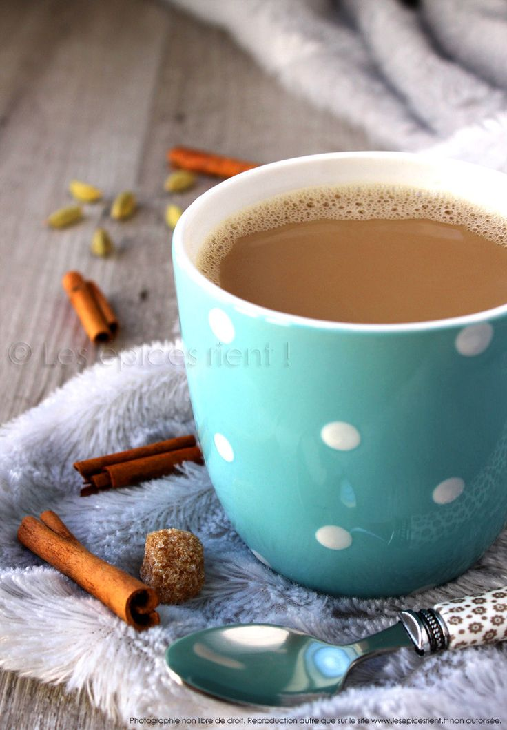 Masala Chai traditionnel (thé aux épices à l'indienne)