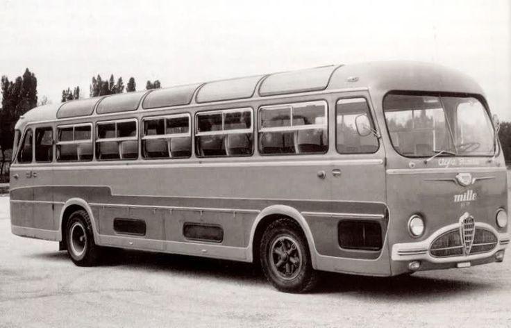 Alfa Romeo Autobus Mille AV Gama #Alfa #AlfaRomeo #italiandesign
