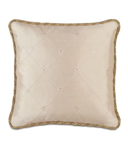 Couture Pillow D (rainier Ivory) from Eastern Accents