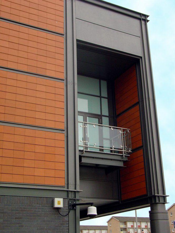 Lockclad Glazed Terracotta Rainscreen Cladding Project
