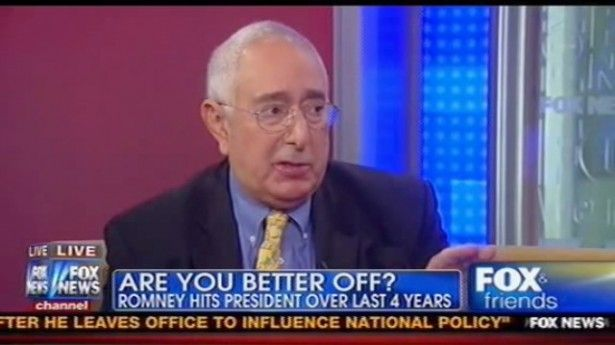 Ben Stein jokes that Fox News might kill him for telling them taxes are 'too low'