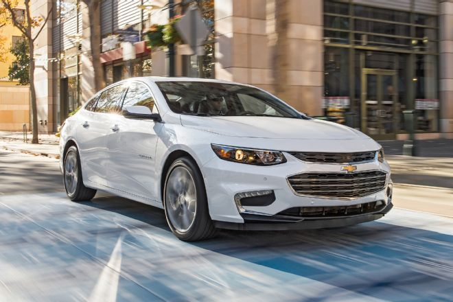The 2016 Chevrolet Malibu is the strongest contender GM has had in this segment in many, many years.