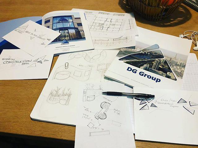 Hello la team déco.....mon nouveau projet avance des idées pleins la tête ...je remercie chaleureusement @coredif_idf de m avoir confié et fait confiance...c est un énorme challenge pour l atelier d Éline mais je serais entourés d autres professionnels pour réussir ce beau projet = the key to success......#decoration #decoratrice #projetdeco #entreprise #construction #infographic #instagood #instahome #plan #graphisme #batiment #entrepreneusescreatives #cooporate #societe #agencement…