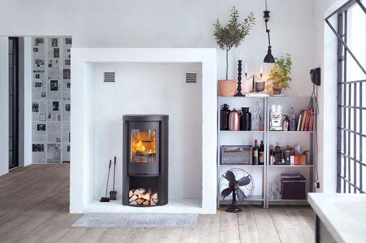 Contura 520 Style med støpejernsdør | Varmefag - spesialister på peiser og ovner.