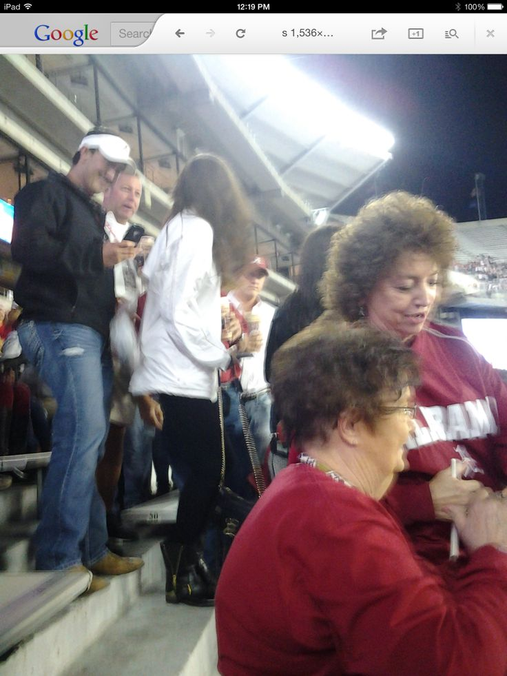 catherine webb used to sit behind me at bama games.  congrats on the wedding catherine and aj!!