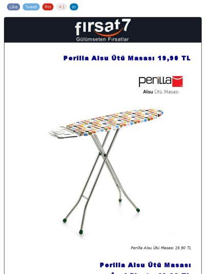 Perilla Alsu Ütü Masası 19,90 TL