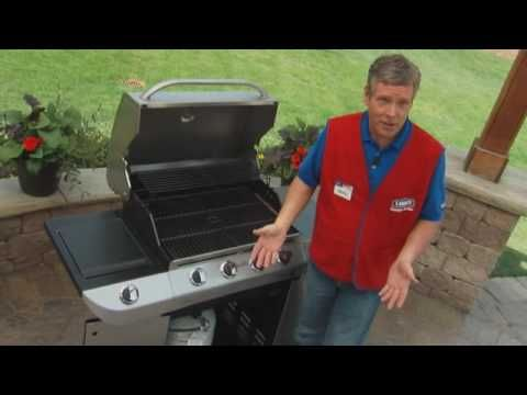 How to Maintain An Outdoor Gas Grill - Do It Yourself - YouTube