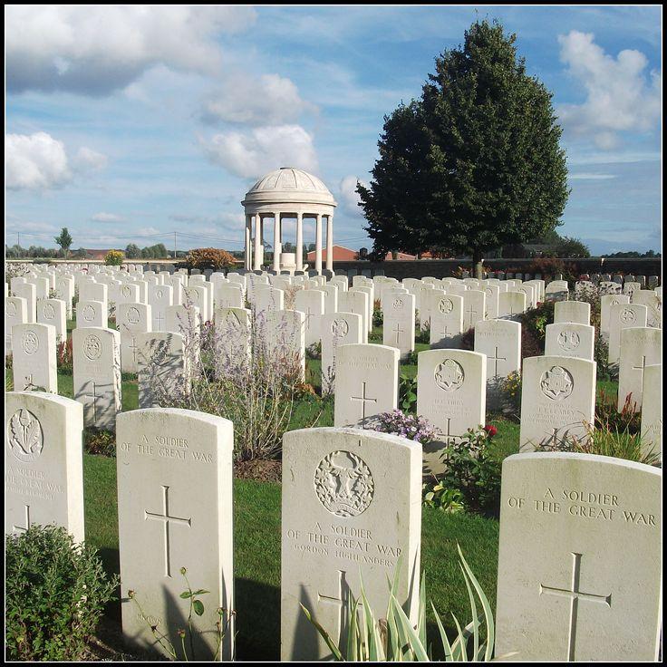 Bedford House Cemetery, Zillebeke (Belgium)