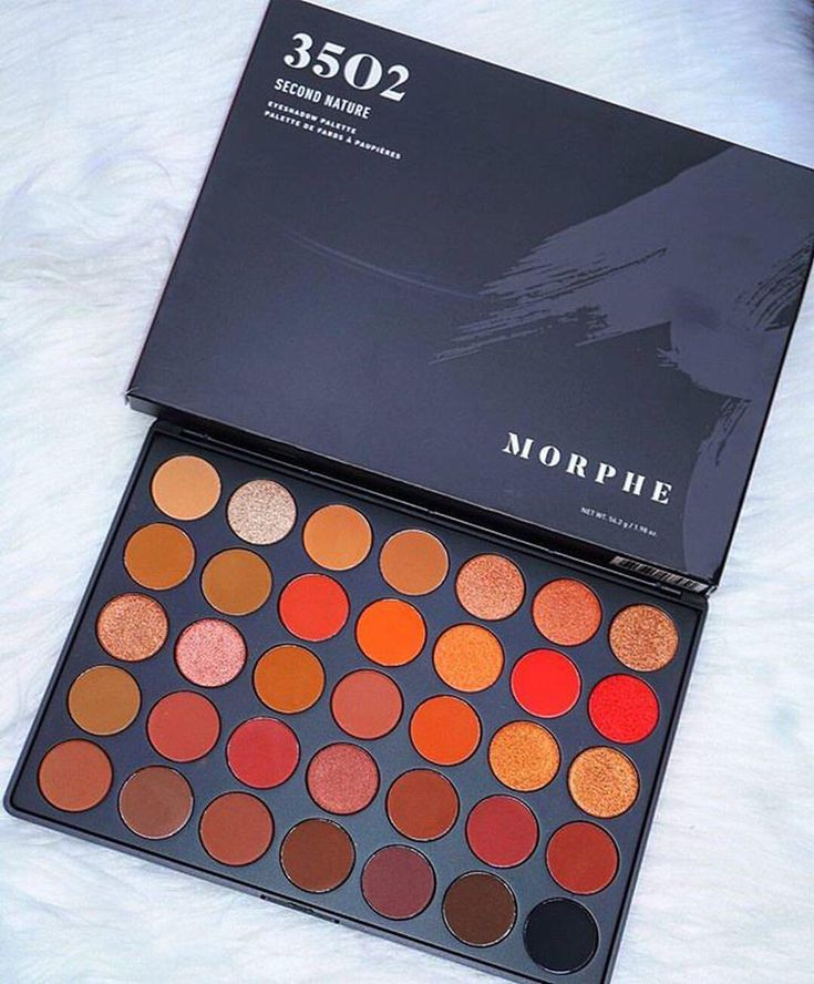 "124k Likes, 866 Comments - Morphe (@morphebrushes) on Instagram: ""Just lay there lookin' beautiful.  @makeup.with.janeth snapped our hot crush, the 35O2 Palette.…"""