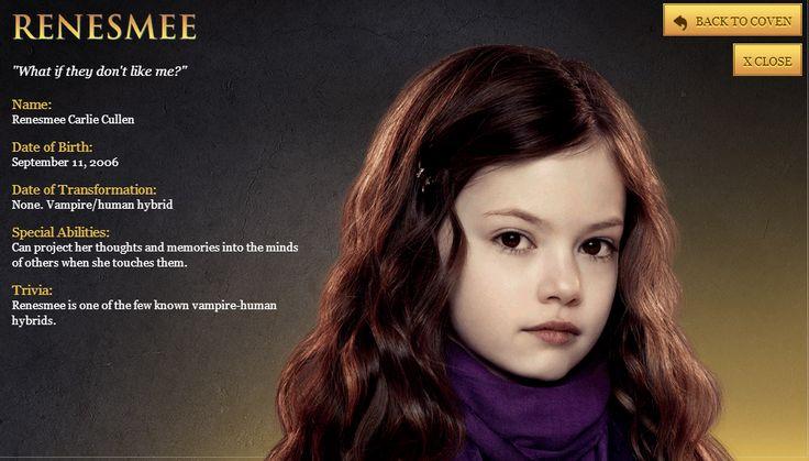 Twilight breaking dawn pt 2 Renesmee