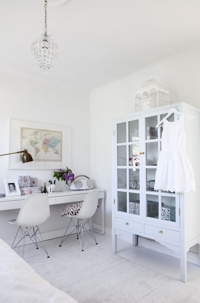 White by House of Philia // Walls painted with Nordsjö Ambiance XTRA MATT – white