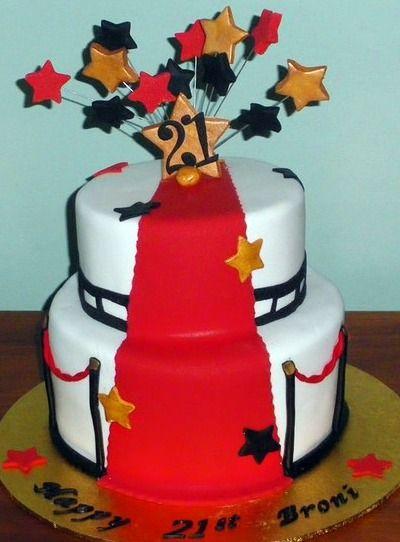 Hollywood Theme Cake Ideas Party Oscar