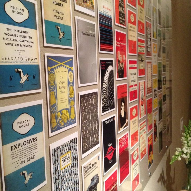 Penguin Book Cover Wall Art : Best hall of postcards images on pinterest home