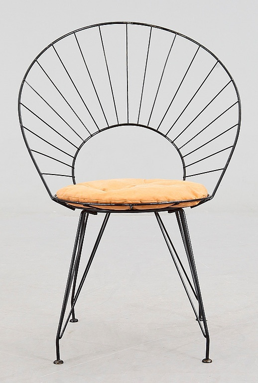 "Bild 2 - 312920. STOL, ""Desirée"", Yngve Ekström, modellen formgiven 1954. – Bukowskis Market"