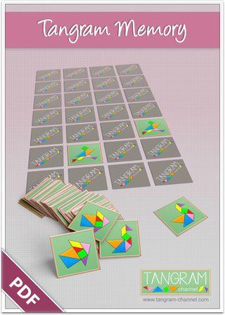DIY - Tangram Memory Game - free Download - www.tangram-channel.com