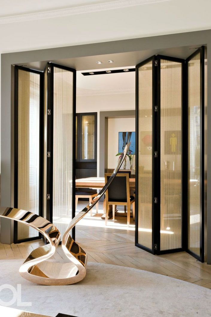 5 Contemporary Folding Screen Ideas To Decorate A Modern Living Room Doors Interior House Design Room Partition Designs