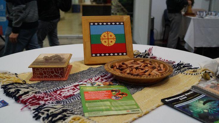 Artesanía Mapuche en Peñalolen.