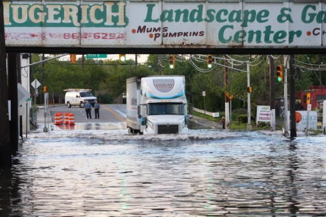 AUGUST 2011 - HURRICANE IRENE STRIKES THE EAST COAST: Even though Irene hit New York City as a Tropical Storm, the damage left in her path was extreme. In all, Irene caused over 50 deaths across the United States.