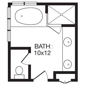 17 best images about bathroom ideas on pinterest image for Efficient master bathroom layouts