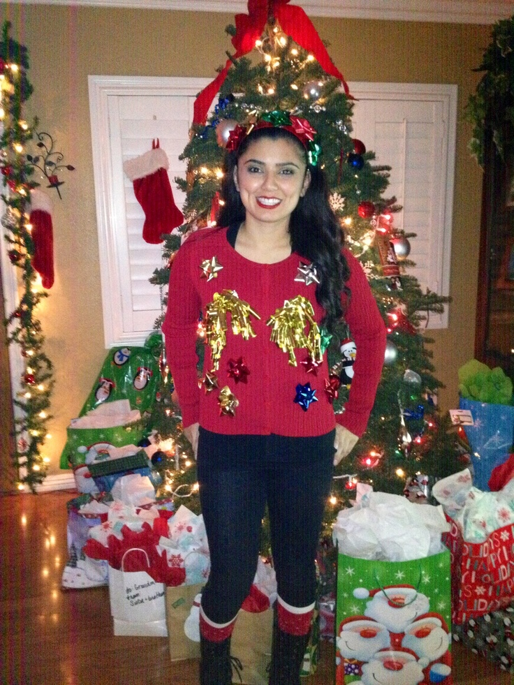 29 best Christmas Ugly Sweater Ideas images on Pinterest ...